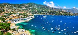 Azurové pobřeží ve Francii
