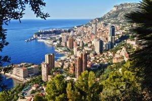 pohled na celé Monako