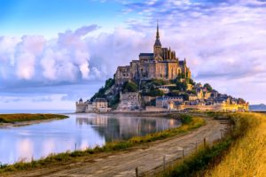 Mont Saint-Michel ve Francii