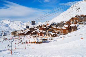 lyžařské středisko Val Thorens